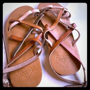 Roxy strappy sandals, brand new size 8